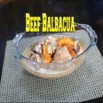 Beef Balbacua