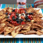 Tortilla Chips with Fruit Salsa