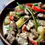 How to cook Ginataang Baka with Vegetables