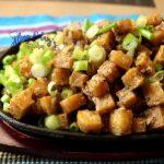 how to cook tuna and tofu sisig