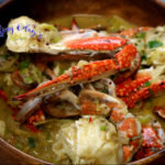 Black and White Pepper Crabs