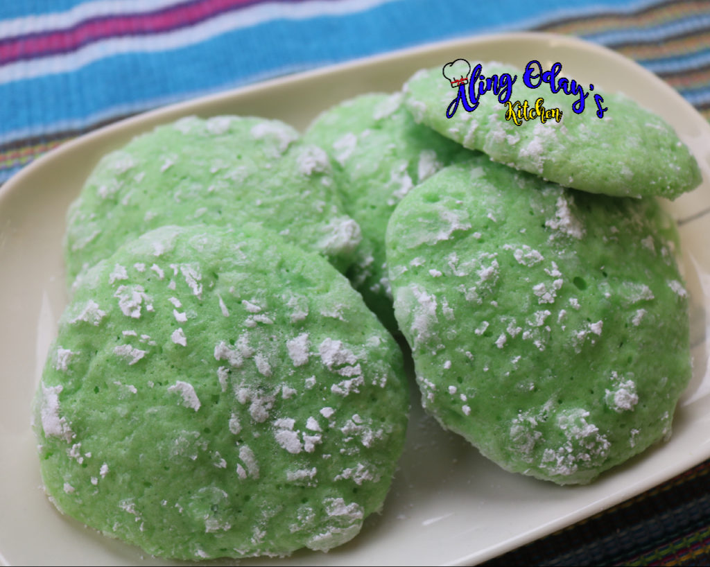 How to bake buko pandan crinkles
