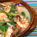 How to cook sinigang na hipon with gata